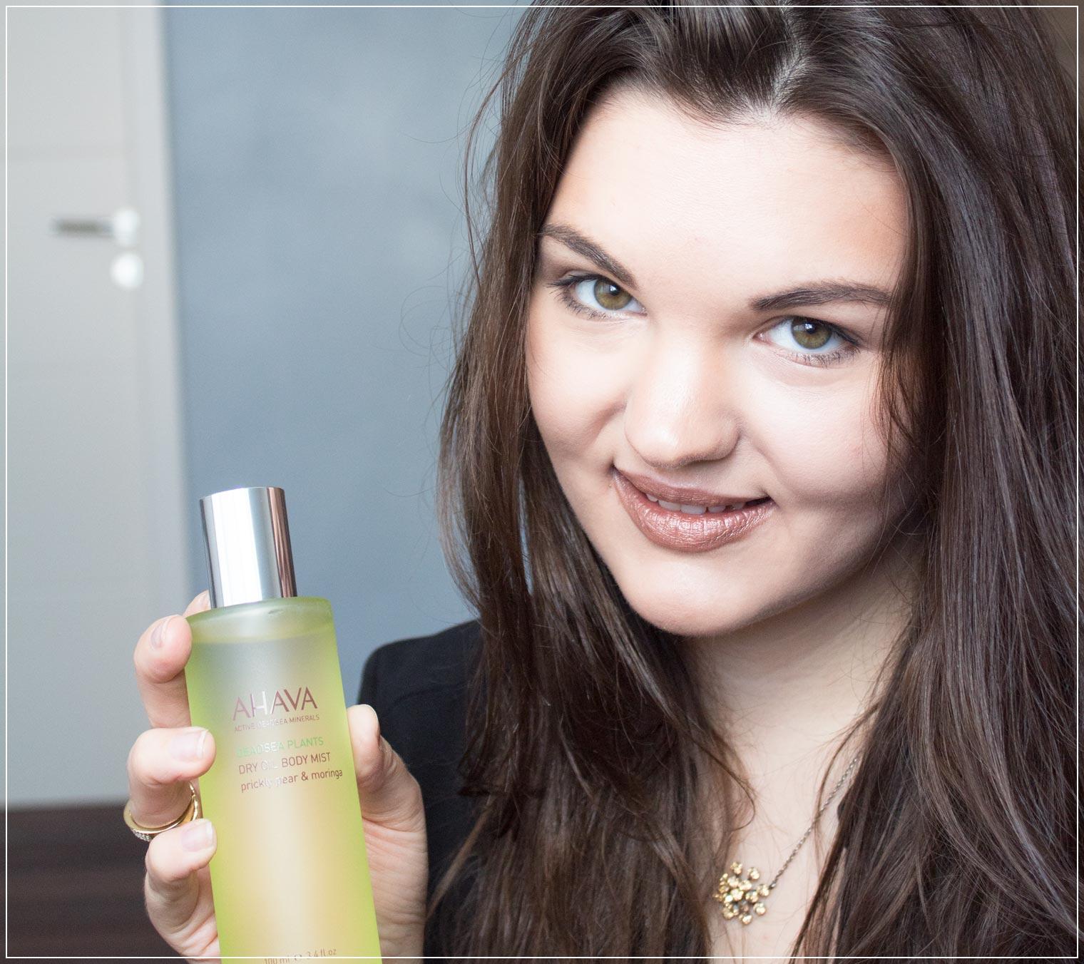 Review Hautpflege mit einem Hautöl der Marke Ahava