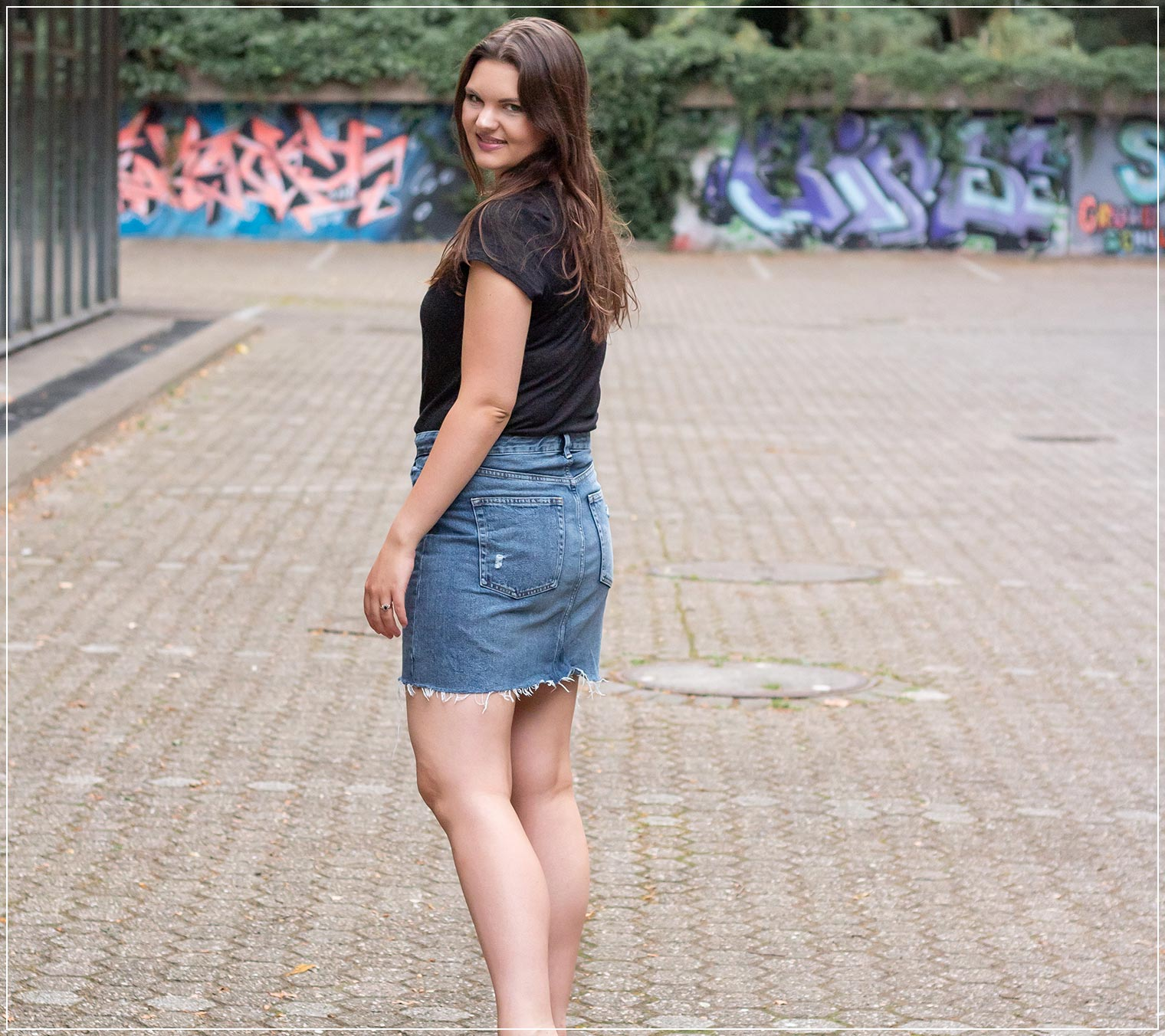 Outfitinspiration aus Jeans