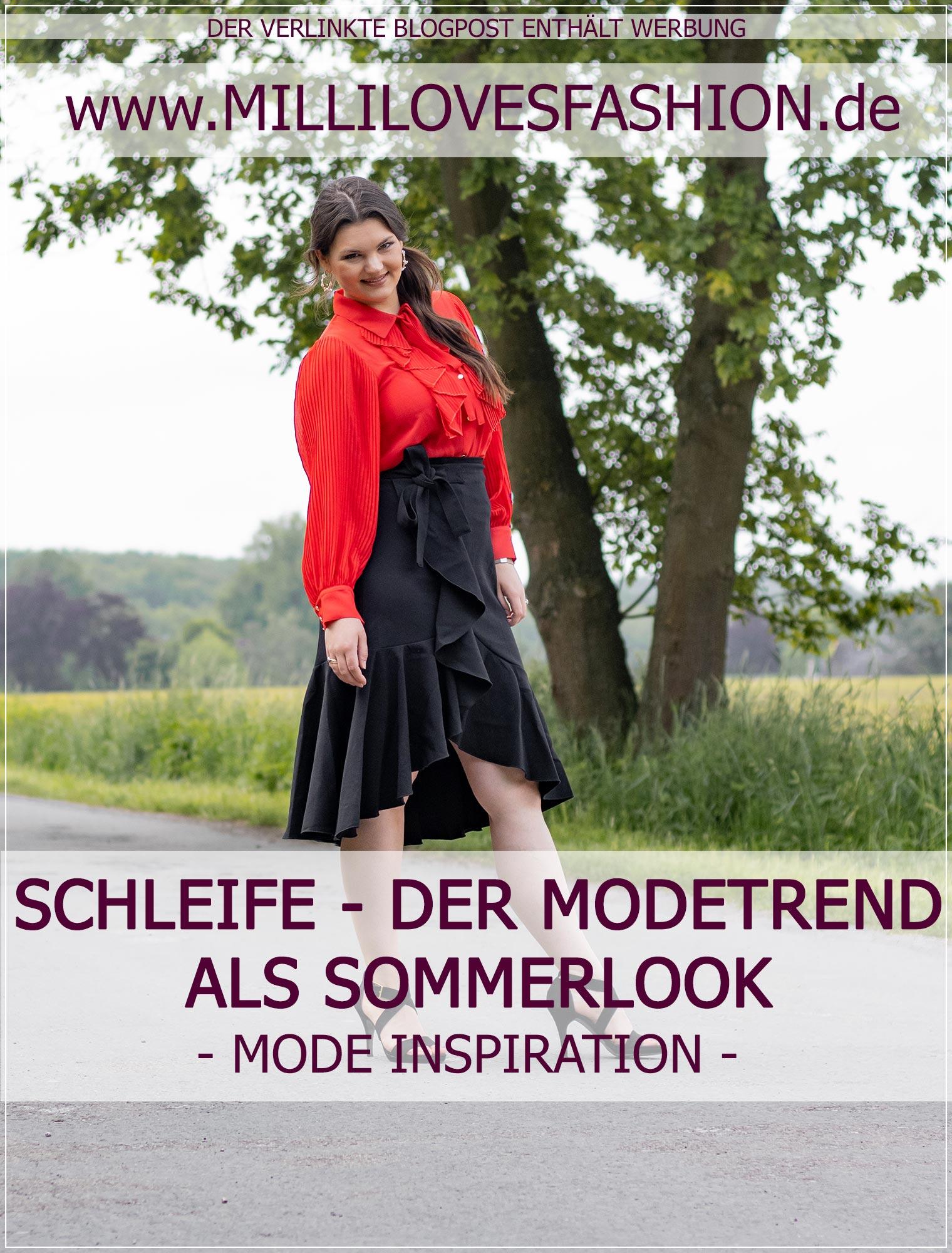 Modetrend Schleife als Sommerlook stylen