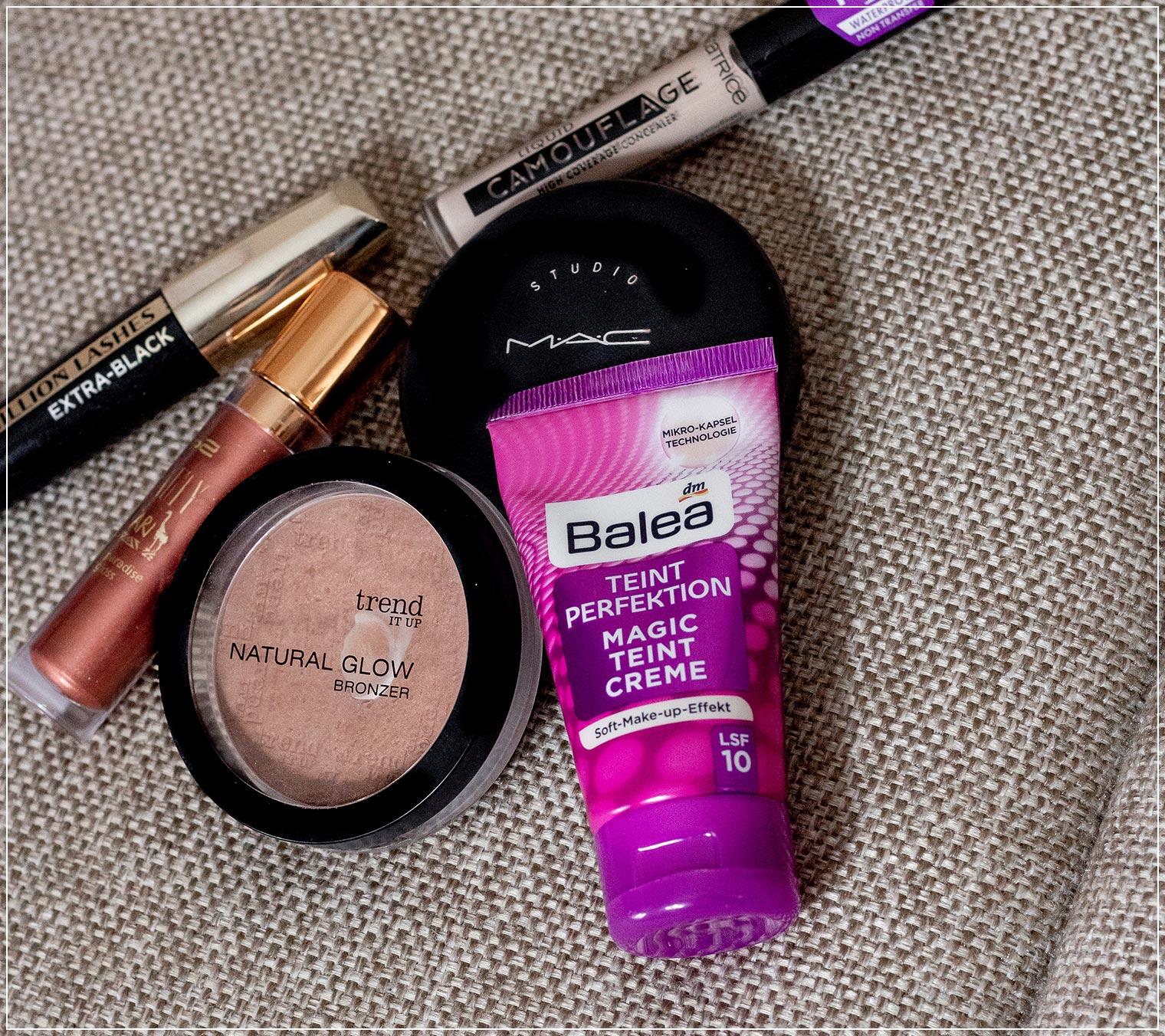Sechs Make-Up Produkte fuer ein tolles Sommer-Make-Up