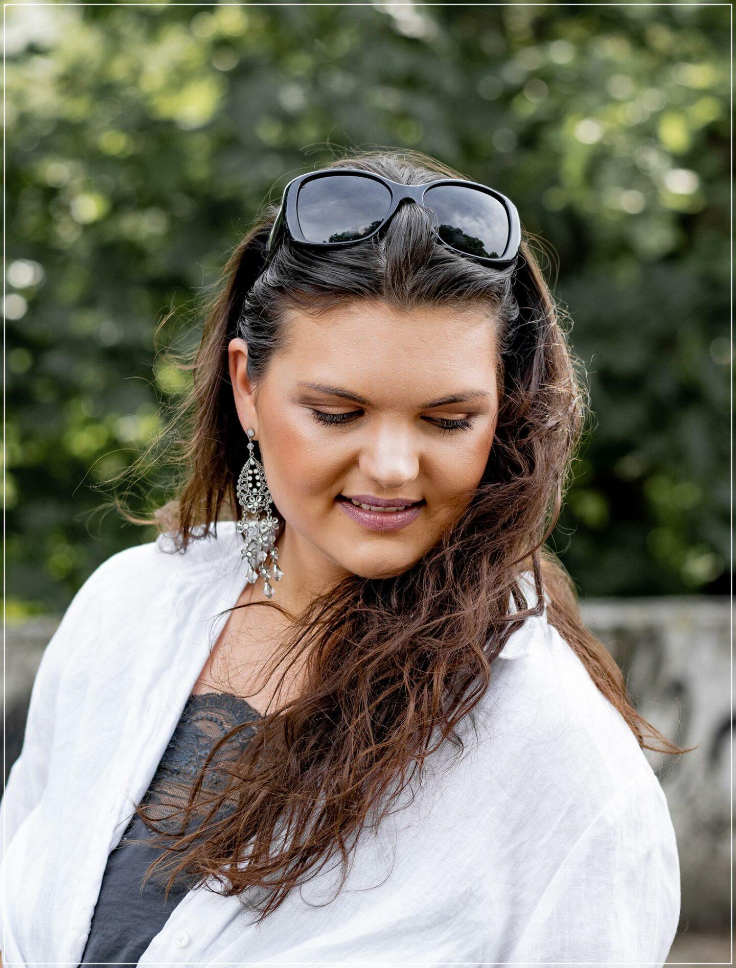 leichtes Alltags-Make-Up im Sommer