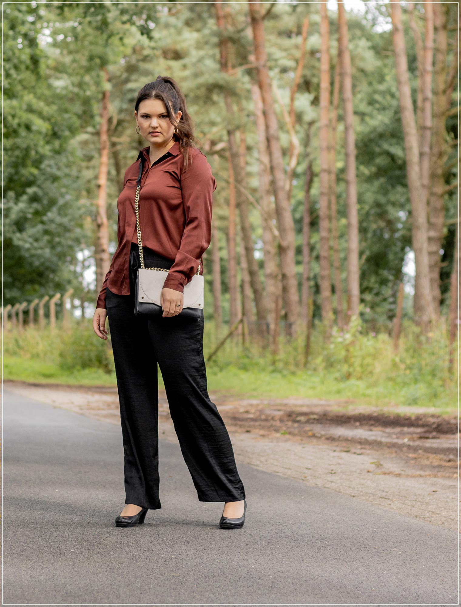 Satin-Bluse als Herbst Must Have 2021