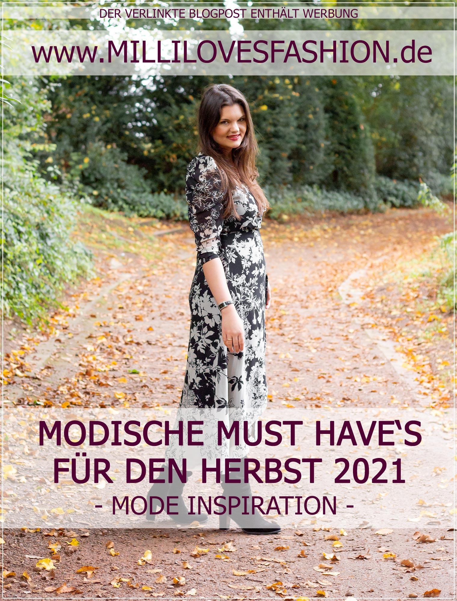 modische Herbst Must Haves 2021