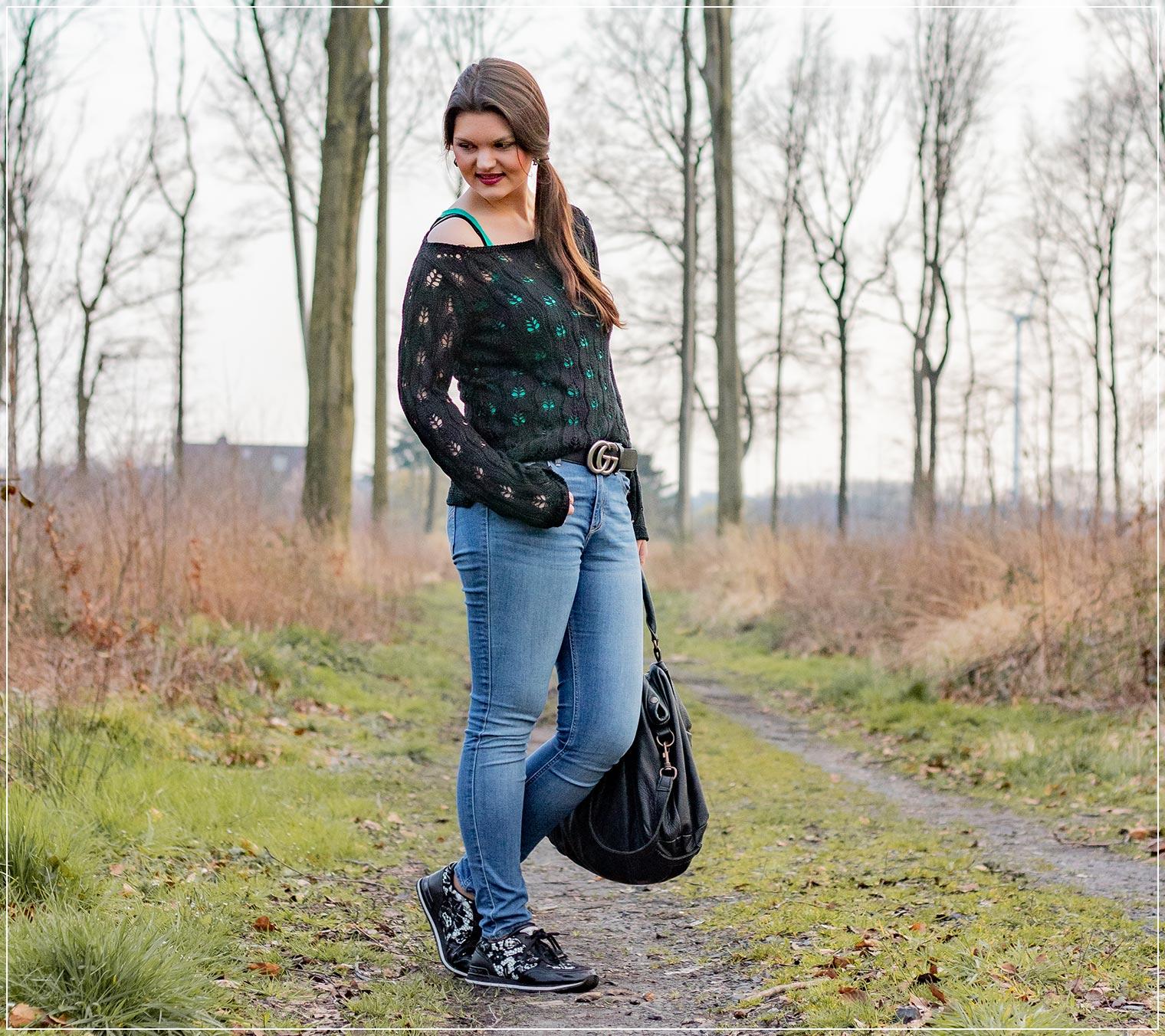 DIe Skinny Jeans als sportlicher Look im großen Jeans-Guide